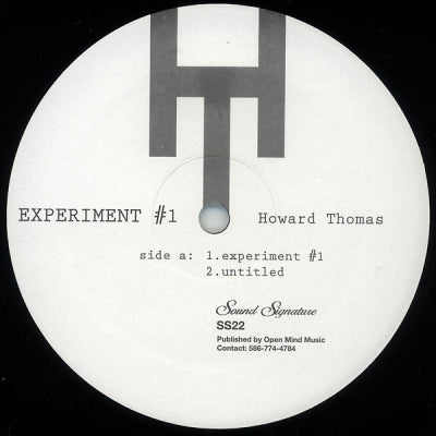 HOWARD THOMAS - Experiment #1