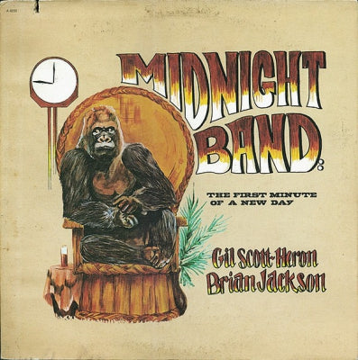 GIL SCOTT-HERON, BRIAN JACKSON AND THE MIDNIGHT BAND - Midnight Band: The First Minute Of A New Day
