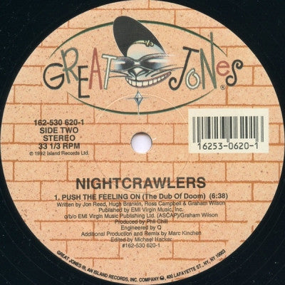 NIGHTCRAWLERS - Push The Feeling