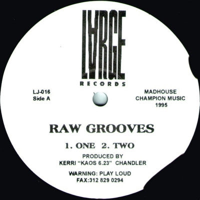 KERRI CHANDLER - Raw Grooves