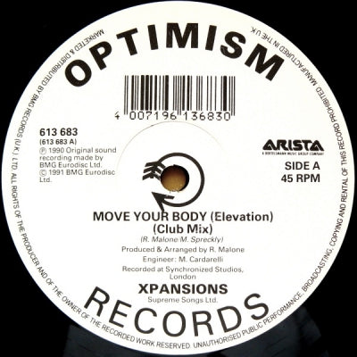 XPANSIONS - Move Your Body (Elevation)