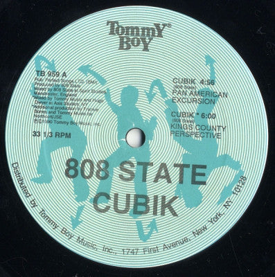 808 STATE - Cubik / In Yer Face
