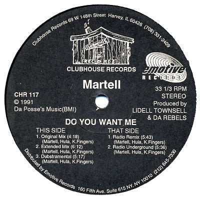 MARTELL - Do You Want Me