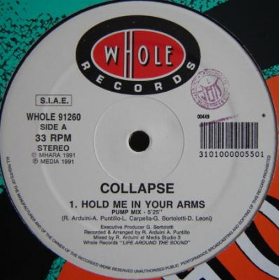 COLLAPSE - Hold Me In Your Arms