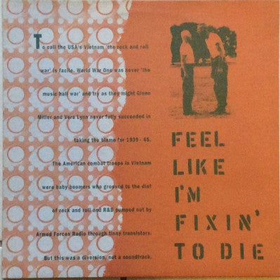 VARIOUS ARTISTS - Feel Like I'm Fixin' To Die