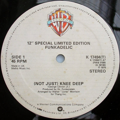 FUNKADELIC - (Not Just) Knee Deep / One Nation Under A Groove
