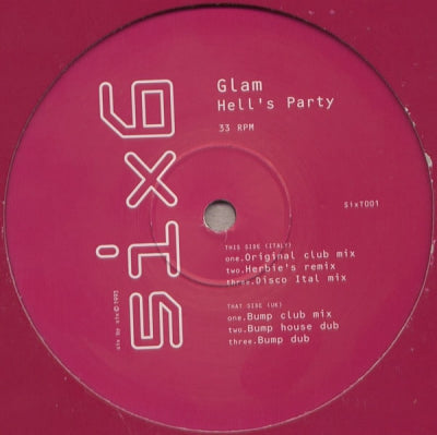 GLAM - Hell's Party