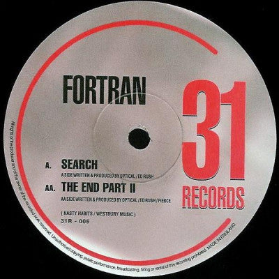 FORTRAN - Search / The End Part II