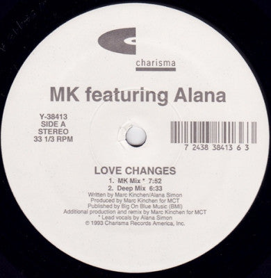 MK feat. ALANA - Love Changes
