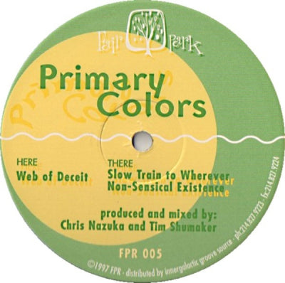 PRIMARY COLORS - Web Of Deceit