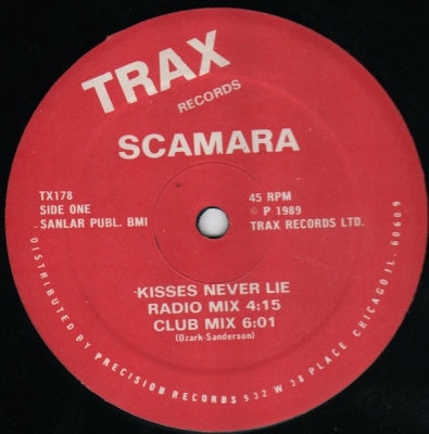 SCAMARA - Kisses Never Lie