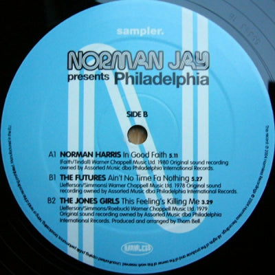 VARIOUS - Norman Jay Presents Philadelphia Sampler