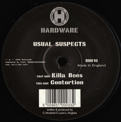 USUAL SUSPECTS - Killa Bees / Contortion