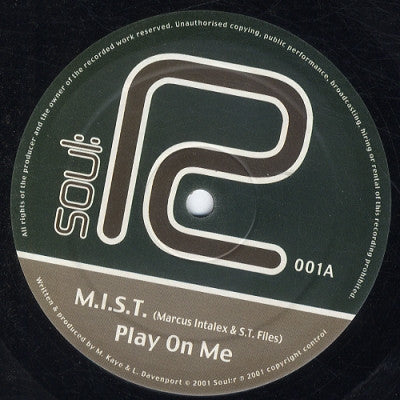 M.I.S.T - Play On Me /  Warp 1