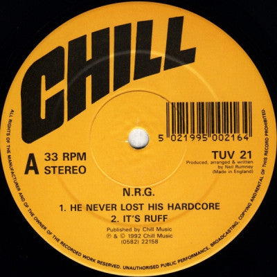 N.R.G - He Never Lost His Hardcore
