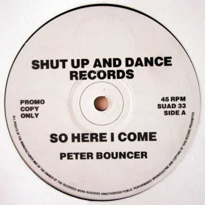 PETER BOUNCER - So Here I Come