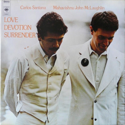 CARLOS SANTANA / MAHAVISHNU JOHN MCLAUGHLIN - Love Devotion Surrender