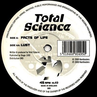 TOTAL SCIENCE - Facts Of Life / Lust