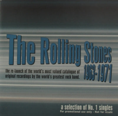 THE ROLLING STONES - 1963-1971 - A Selection of No.1 Singles