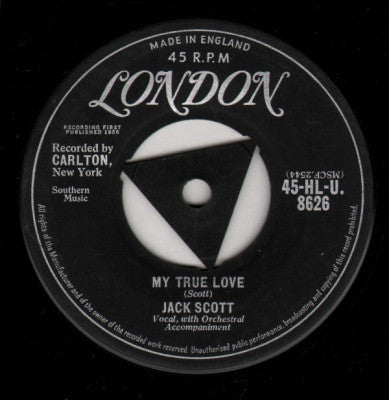 JACK SCOTT - My True Love / Leroy