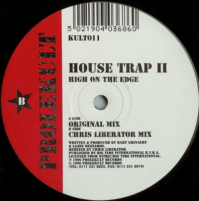 HOUSE TRAP II - High On The Edge (Chris Liberator Remix)