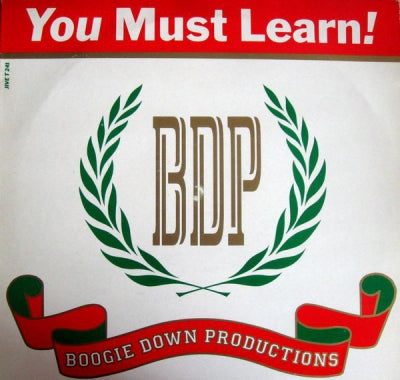 BOOGIE DOWN PRODUCTIONS - You Must Learn