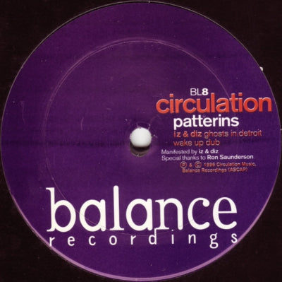 CIRCULATION - Patterns / Memory / Ex-tempo