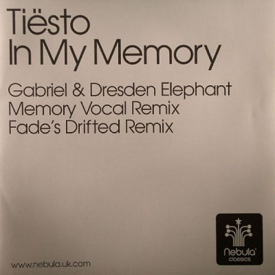 TIESTO - In My Memory