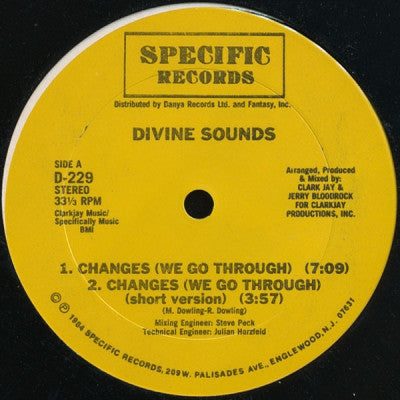 DIVINE SOUNDS - Do Or Die Bed Sty / Changes