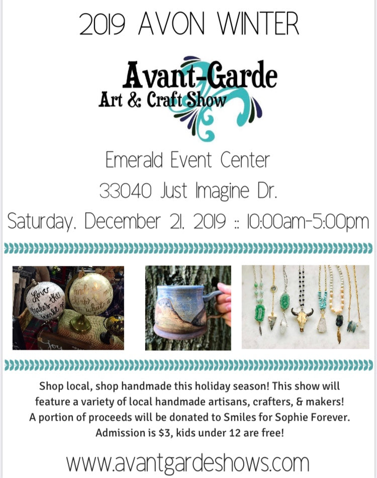 Finishing up 2019 with holiday market at Avon!