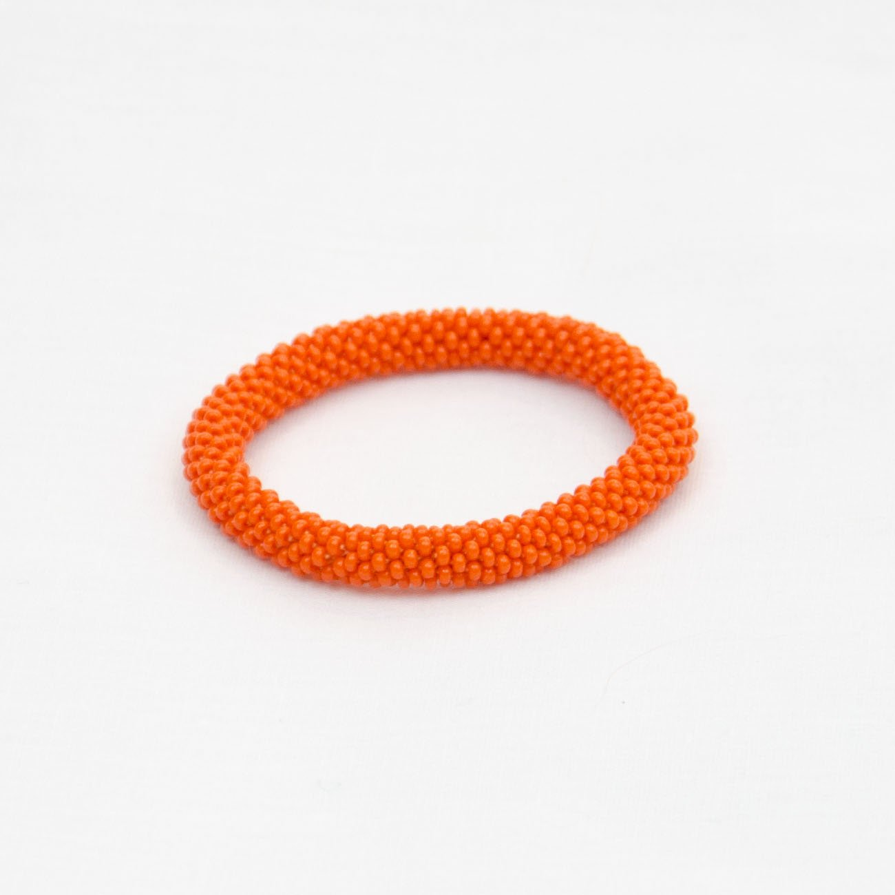 Pumpkin Orange Kids Bracelet