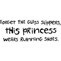 Forget The Glass Slippers. This Princess Wears Running Shoes