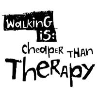 Walking Is Cheaper Than Therapy