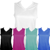 Women's V Neck Tech Tank