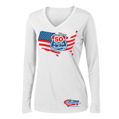 Coach Jenny's 50 States Challenge Ladies STEK Long Sleeve