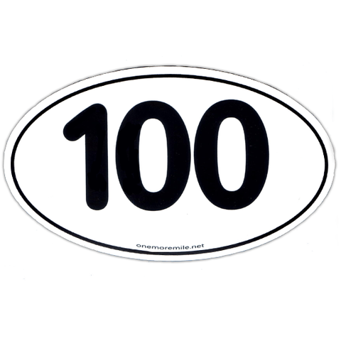 "Car Magnet ""100"""