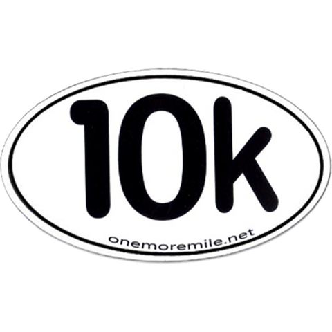 "Car Magnet ""10K"""