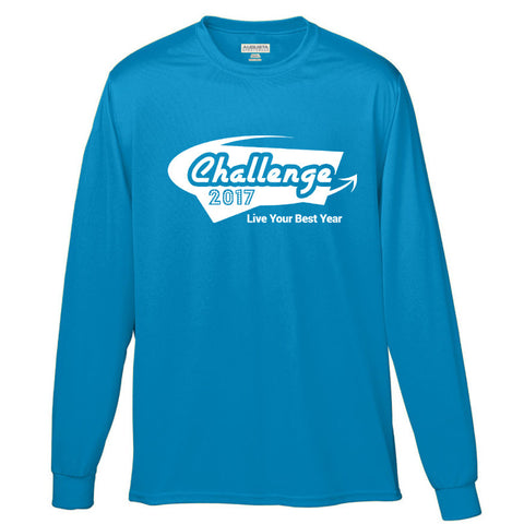 Coach Jenny's Challenge 2017 Men's Sports Tech Long Sleeve Crew