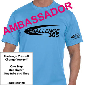 AMBASSADOR 365 Men's Sports Tech Short Sleeve Crew