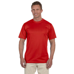"Men's Sports Tech Short Sleeve Crew - ""Life's Too Short Not To Run In The Rain"""