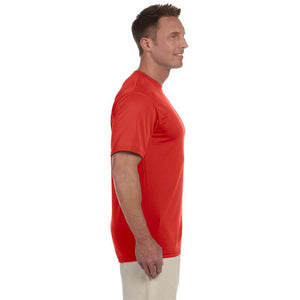 "Men's Sports Tech Short Sleeve Crew - ""Still Faster Than Sitting On The Couch"""