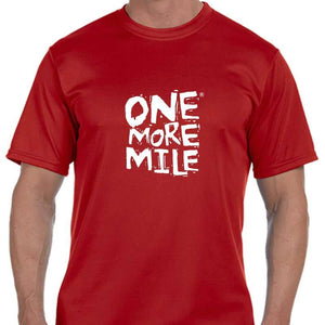 "Men's Sports Tech Short Sleeve Crew - ""One More Mile"""