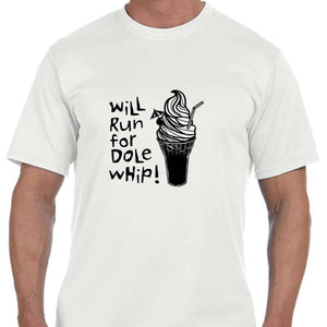 "Men's Sports Tech Short Sleeve Crew - ""Will Run For Dole Whip"""