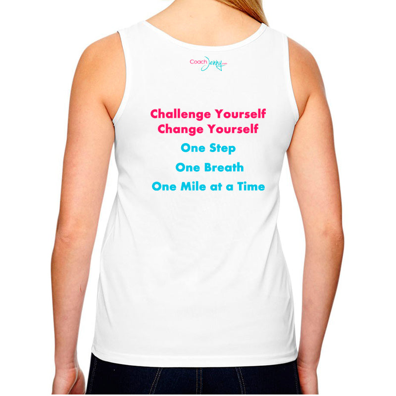 Coach Jenny's Challenge 2018 Ladies Sports Tech Tank Crew