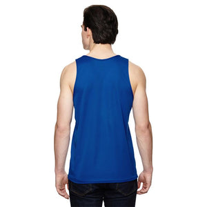 "Men's Sports Tech Tank - ""13.1 Miles 'Cause I Am Only Half Crazy"""