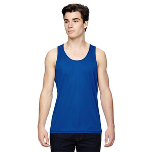 "Men's Sports Tech Tank - ""Designated 'Stuff' Holder"""