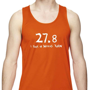 "Men's Sports Tech Tank - ""27.8  I Took A Wrong Turn"""