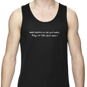 "Men's Sports Tech Tank - ""What Happens On The Long Walk, Stays On The Long Walk"""