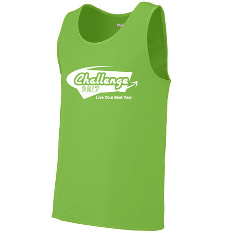 Coach Jenny's Challenge 2017 Men's Sports Tech Sleeveless T