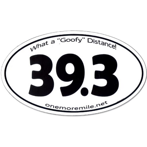 "Car Magnet ""39.3 What A Goofy Distance"""